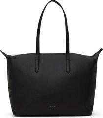 matt & nat abbi vegan tote bag purity, black
