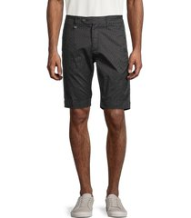 antony morato men's bryan skinny-fit striped shorts - black - size 46 32