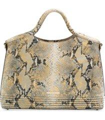 brahmin elaine leather satchel