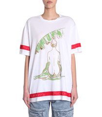j.w. anderson oversize fit t-shirt
