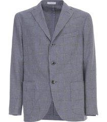 boglioli madras jacket pied de paule