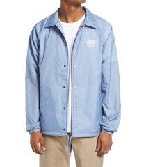 men's vans men's torrey jacket, size large - blue