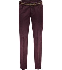 meyer broek dubai aubergine 5-pocket
