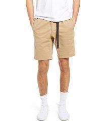 men's gramicci men's nn shorts, size small - beige