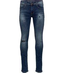 slim fit jeans blue dust skinny jeans blå shine original