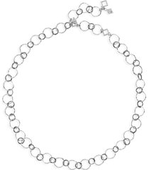 women's armenta new world short hammered chain necklace
