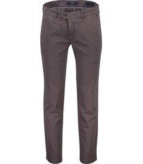 brax everest pantalon taupe flatfront stretch