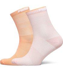 puma sock structure 2p women lingerie hosiery socks rosa puma