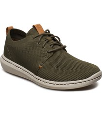 step urban mix låga sneakers grön clarks
