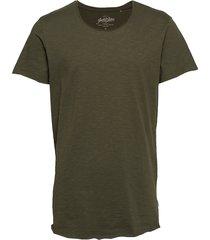 jjebas tee ss u-neck noos t-shirts short-sleeved grön jack & j s