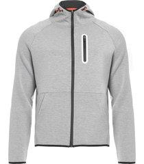 jaqueta masculina neoprene - cinza