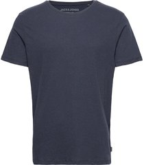 jjelinen basic tee ss crew neck sts t-shirts short-sleeved blå jack & j s
