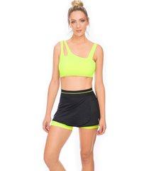 shorts saia bonna forma fitness evolution