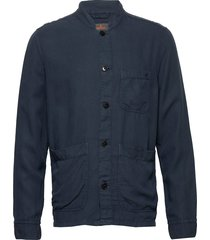 corsoir shirt jacket overshirts blauw morris