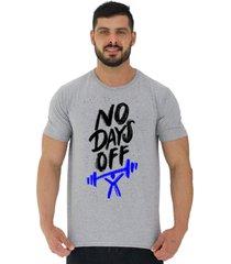 camiseta tradicional gola redonda alto conceito sem dias de descanso mescla - cinza - masculino - algodã£o - dafiti