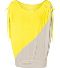 maglia con maniche a pipistrello (giallo) - bodyflirt
