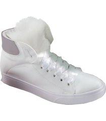 botas blanco mp