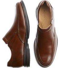 belvedere tan torino slip-on dress shoes