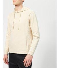 folk men's rivet hoodie - stone - 3/m - stone