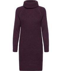 dresses flat knitted kort klänning lila edc by esprit