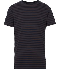majermane t-shirts short-sleeved brun matinique