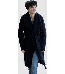 mantel dress in marine