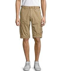 jetlag men's cotton cargo shorts - grey - size 32