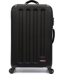 eastpak ridged hard-case suitcase - black