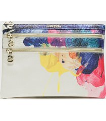 monedero corel blanco desigual