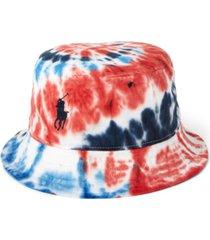 polo ralph lauren men's team usa tie-dye chino bucket hat