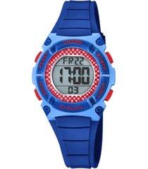 reloj digital crush azul calypso