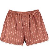 america today pyjamashort lulu rood