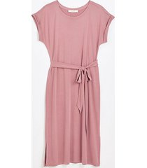 loft dolman tie waist midi dress