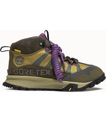 timberland sneakers bee line garrison trail mid colore verde