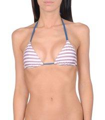 solid & striped bikini tops