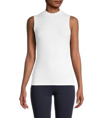 bcbgeneration women's ribbed sleeveless top - black - size xs