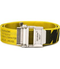off-white 2.0 industrial belt - yellow