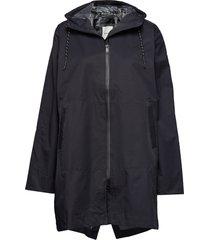 damian jacket regenkleding zwart wood wood