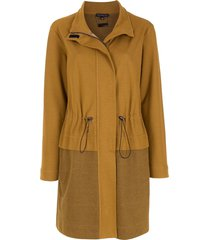 alcaçuz super long coat - brown