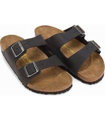 birkenstock arizona sandaler & flip flops svart