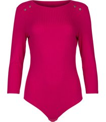 body's lisca geniet van cheek driekwart mouwen bodysuit