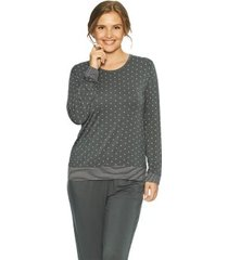 lady avenue bamboo long sleeve pyjama with cuff * gratis verzending *