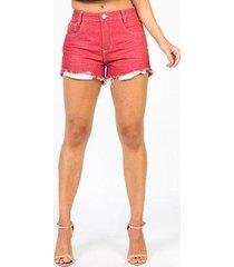 shorts star luck hot pants feminino