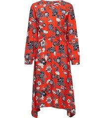 pelin jurk knielengte rood minimum