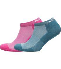 skare sock 2pk footies träningssockor/ankle socks rosa kari traa