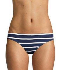 classic stripe bikini bottoms