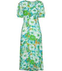 beline midi dress maxiklänning festklänning grön faithfull the brand