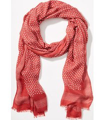 loft dotted scarf