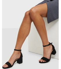 nly shoes low block heel sandal low heel