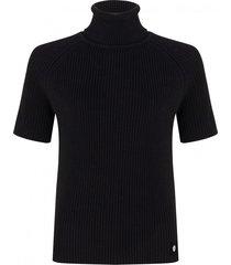 knit top met col